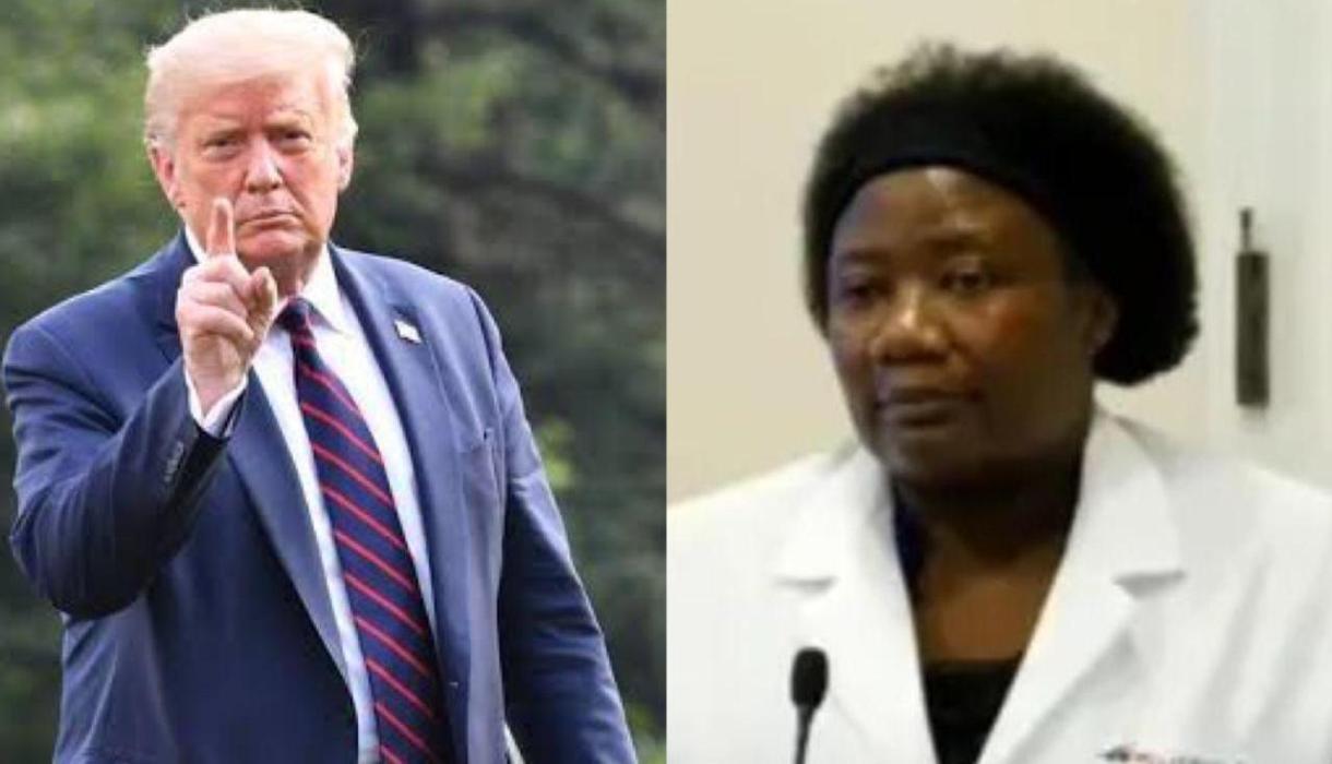 Mundo: Médica de vídeo compartilhado por Trump acredita em DNA ...