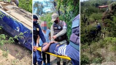 Photo of #Chapada: Carro capota em região de posto desativado e deixa uma pessoa ferida em Ruy Barbosa