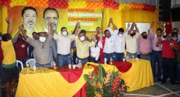 O grupo político liderado pelo candidato Joyuson Vieira é reforçado e busca a reeleição   FOTO: Divulgação  