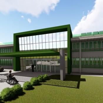 A nova unidade vai substituir o antigo Hospital Manoel Victorino | FOTO: Ilustração/Sesab |