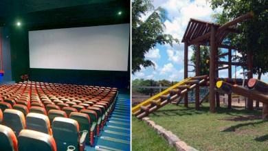 Photo of #Polêmica: Cinemas e parques infantis voltam a funcionar no município de Feira de Santana em plena pandemia