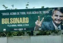 Photo of #Brasil: MPF investiga crime eleitoral e de improbidade em outdoors pró-Bolsonaro na Bahia e no Mato Grosso