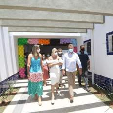 inauguração de creche municipal em itaberaba 7