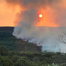 Até o momento, não houve nenhum registro de feridos e a causa do fogo é desconhecida   FOTO: Reprodução/Leitor do JC  