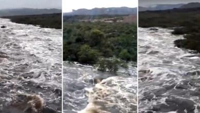 Photo of #Chapada: Chuva ajuda a conter incêndios na região e faz Rio Piaba transbordar em Mucugê