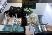 Photo of #Chapada: Dois traficantes são presos pela polícia com cocaína, maconha e R$1,3 mil em Souto Soares