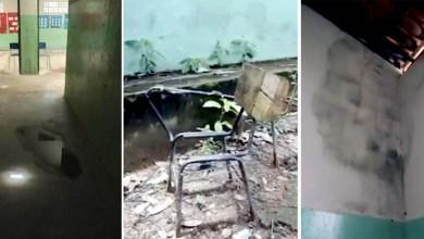 Photo of #Chapada: Moradores gravam vídeo e denunciam condições precárias de escola municipal no Vale do Capão