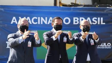 Photo of #Brasil: Dois milhões de doses da CoronaVac chegam a São Paulo; Doria diz que é o maior lote vindo da China
