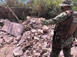 A ação da polícia ambiental aconteceu no último final de semana | FOTO: Divulgação |