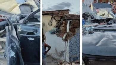 Photo of #Chapada: Acidente em Ruy Barbosa deixa veículo completamente destruído e impressiona moradores