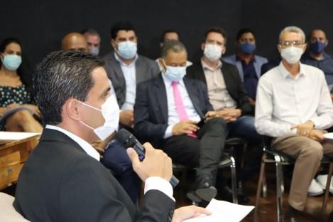 O prefeito mantém a base dos secretários e anuncia novas ações para Itaberaba | FOTO: Divulgação/PMI |