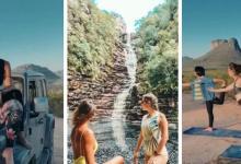 Photo of #Chapada: Influenciadoras exploram as belezas da região chapadeira em viagem com carro off road