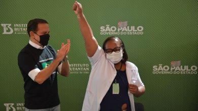 Photo of #Brasil: Enfermeira negra de São Paulo recebe a primeira dose da vacina contra covid-19 no país após aprovação da Anvisa