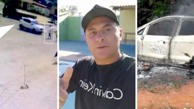 Photo of #Chapada: Imagem mostra momento que o chefe da Guarda Municipal de Canarana é assassinado