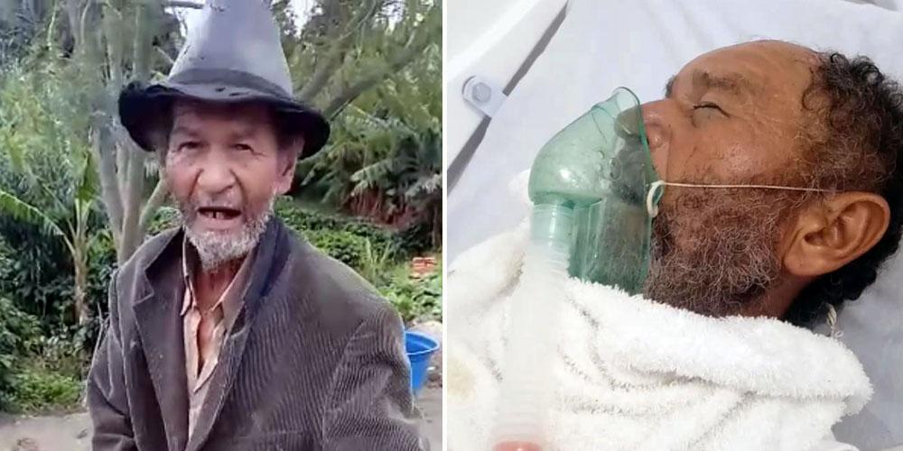 Idoso morador de Mucugê está internado em hospital de Seabra e busca por família em Lauro de Freitas