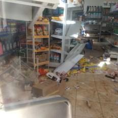 mercearia destruida em Minas Gerais 3