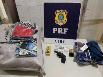 O motorista de 37 anos foi preso em flagrante | FOTO: Divulgação/PRF |