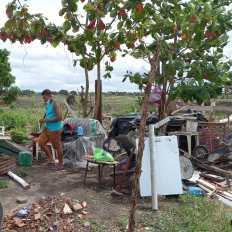 Famílias despejadas em Porto Seguro em plena pandemia da covid-19 | FOTO: Divulgação |