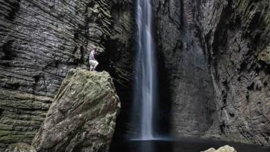 Photo of #Chapada: Vídeo exibe cenário impressionante da Cachoeira da Fumacinha que tira o fôlego dos visitantes