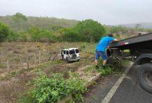 Photo of #Chapada: Acidente com carro de passeio é registrado na BA-130; ocupantes do veículo passam bem