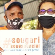 Primeiro dia de vacinação para trabalhadores de limpeza urbana em Salvador - FOTO Divulgação 7