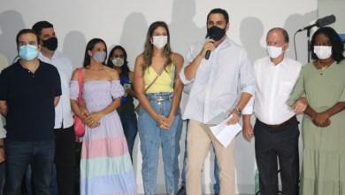 Photo of #Itaberaba: Prefeito Ricardo entrega escola de Santa Quitéria, assina ordem de serviço e recebe visita de João e Cacá Leão