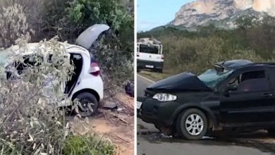 Photo of #Chapada: Acidente na região de Livramento de Nossa Senhora deixa três pessoas da mesma família mortas