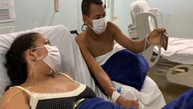 Photo of #Bahia: Internados e separados pela covid-19, pai, mãe e filho recém-nascido se reencontram em chamada de vídeo