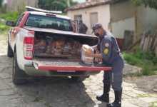 Photo of #Chapada: Famílias em situação de vulnerabilidade em Itaberaba recebem cestas básicas do Corpo de Bombeiros