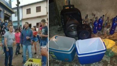 Photo of #Chapada: Jovens promovem festa com bebidas e aglomeração na zona rural do município de Rio de Contas; veja vídeo