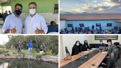Photo of #Chapada: Em projeto 'Pé na Estrada com o Prefeito', gestor de Piatã anuncia obras e discute implementações para município