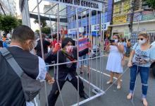 Photo of #Fotos: Com Bolsonaro no xadrez, manifestantes protestam contra o governo federal em Salvador