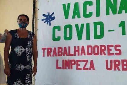 A vacinação aconteceu na última semana | FOTO: Divulgação |