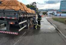 Photo of #Chapada: Bombeiros de Itaberaba debelam principio de incêndio em carreta e evitam tragédia