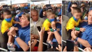 Photo of #Vídeos: Bolsonaro tenta explicar porque tirou máscara de criança e comete erro crasso ao confundir órgão com doença