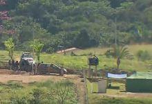 Photo of #Vídeo: Policiais da força-tarefa recebem denúncia sobre esconderijo de Lázaro na mata em Goiás