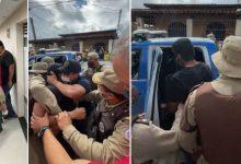 Photo of #Vídeo: Polícia Militar prende prefeito de São Gonçalo dos Campos após confusão por causa de 'São João Itinerante'