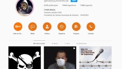 Photo of #Salvador: Presidente da Câmara de Vereadores sofre ataque cibernético e tem perfil do Instagram hackeado