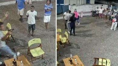 Photo of #Chapada: Homens armados ameaçam pessoas em praça da cidade de Lençóis no final de semana; veja o vídeo