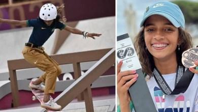 Photo of #Brasil: 'Fadinha' do skate, Rayssa Leal é prata nas Olimpíadas de Tóquio com apenas 13 anos e faz história