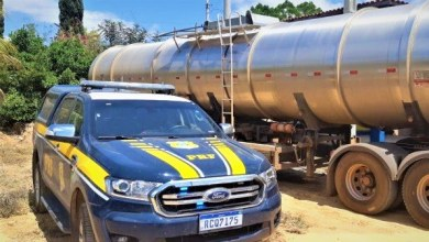 Photo of #Chapada: Carreta com 42 mil litros de álcool é apreendida pela PRF com nota fiscal fraudada na região de Seabra