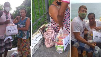 Photo of #Salvador: Movimento de Articulação e Inclusão Social completa mais um ciclo de entregas de cestas básicas para famílias da capital