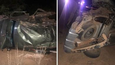 Photo of #Chapada: Carro capota entre trecho de Várzea Nova e Jacobina e deixa quatro pessoas mortas e uma ferida