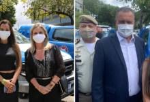 Photo of #Chapada: Prefeita de Lençóis recebe viatura da PM das mãos do governador; veículo fará operações em Tanquinho