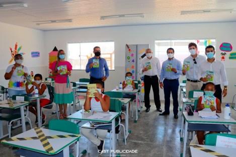 A equipe da controladoria ficou satisfeita com a condução do programa nessas três escolas   FOTO: Divulgação/Cast  