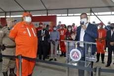 O governador Rui Costa durante lançamento da Operação   FOTO: Mateus Pereira  