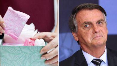 Photo of #Polêmica: Bolsonaro veta distribuição de absorventes a estudantes da rede pública e mulheres pobres