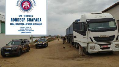 Photo of #Chapada: Veículo de carga roubado é encontrado pela polícia na região do município de Itaberaba