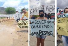 Photo of #Bahia: Moradores de 'Uauá' e 'Jaguarari' cobram asfaltamento no trecho de 32 Km da BA-314