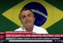Photo of #Brasil: Bolsonaro acusa CPI da Covid de provocar estragos na economia do país